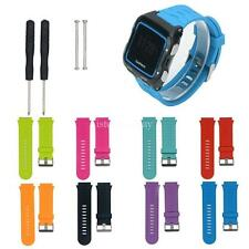 Silicon Replacement Bands Metal Clasps Strap for Garmin Forerunner 920XT Watch