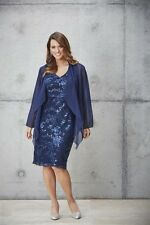 New Plus size Women fashion Eve Hunter Sequined Dress.