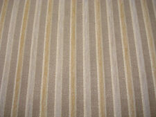 Super high quality Gold stripe Chenille Upholstery Fabric. 2,3.4 or 5 metres