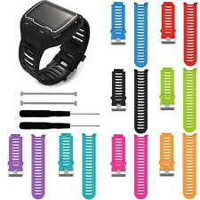 Silicone Accessory band Wrist Strap Kit For Garmin Forerunner 910XT GPS Watch