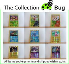 Pokemon XY Steam Siege Pick From List : Parallel Foil Reverse Holo Cards 1-50