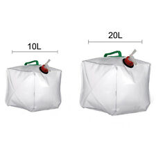 10L/20L Foldable Collapsible Outdoor Camping Water Storage Carrier Container Bag