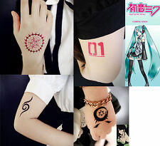 1Pcs Japanese Anime Naruto Cosplay Waterproof Temporary Tattoo Stickers Body Art