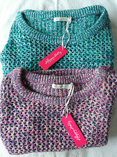 NEW WOMANS LADIES SHORTER STYLE WARM CROCHET KNIT JUMPER PULLOVER WITH PLUS SIZE