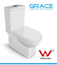 Toilet Suite WELS Back to Wall Close Couple Ceramic,soft closing seat,S P trap