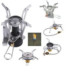 Portable Mini Gas Stove Butane Propane Gas Burner Outdoor Camping Hiking Picnic