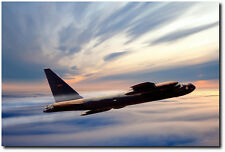 The Long Goodbye by Peter Chilelli - Boeing B-52 Stratofortress - Aviation Art