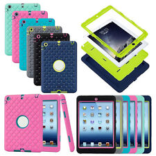 Silicone PC Soft Case Cover Protective Back Shell Skin For Apple iPad Mini 1 2 3