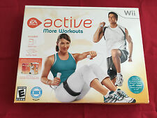 *NEW* EA Sports Active: More Workouts -Game Disc & Nutrition Book- Nintendo Wii