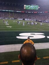 INDIANAPOLIS COLTS Vs NEW YORK JETS 2 TICKETS SEC 103 ROW 2 FIELD SEATS AMAZING!