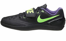 Mens Nike Zoom Rotational 6 Shot Put Discus Shoes sz 11.5 Black Green 685131-035