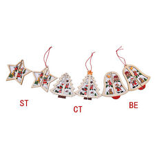 3D Best  Wooden Christmas Decoration Xmas Tree Ornament Hanging Home Party Decor