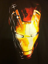 "Iron Man ....""mask"".. T-shirt..mens Lg. -  Avengers.. Marvel Comics ..Nwt"