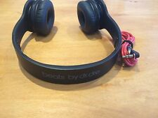 Authentic Beats by Dr. Dre Solo HD Drenched Headphones - Black - Good Condition