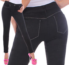 Pants Tube Ladies Of Jeans Skinny Women Hipster Stretch D2-3