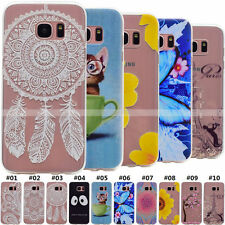 TPU Slim Silicone Soft Rubber Protective Back Case Gel Cover For Samsung Galaxy