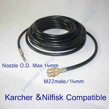 Kranzle pressure washer 2300PSI/160BAR sewer Jetter drain cleaning hose(A13)
