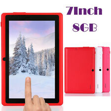 """7"""" Multi-color WIFI Quad Core Tablet PC HD 1024*600 Google Play Android 4.4"""