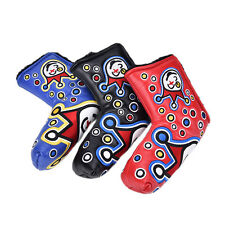 3colours Golf Putter Cover Headcover for Blade Golf Putter Golf Plactic SL
