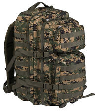 MIL-TEC BACKPACK US ASSAULT LARGE PACK TACTICAL RUCKSACK 36 LITRE DIGITAL CADPAT