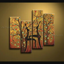 Handmade Large Modern Abstract Painting Wall Art Figure Contemporary Decor