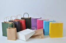 50pcs pack paper shopping bags carrier bags gift bags kraft paper bags PPG3
