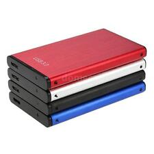 """SuperSpeed 6Gbps 2TB 2.5"""" SATA SSD HDD Hard  Drive Enclosure Case Caddy NEW X5E0"""