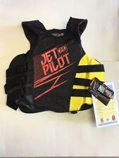 JETPILOT Matrix Side Entry Life Vest Jacket JP17213 Yellow USCG Approved S/ML/XL