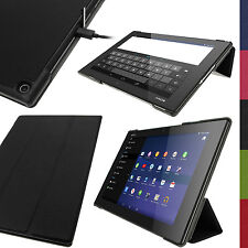 """PU Leather Smart Case for Sony Xperia Z2 10.1"""" SGP511 Tablet Stand Flip Cover"""