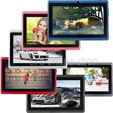 "8GB 7"" Google Android 4.4 Tablet PC For Kids Children Dual Cameras WiFi Tab Gift"