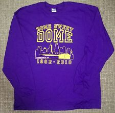 MINNESOTA VIKINGS HOME SWEET DOME LONG SLEEVE TSHIRT 1982-2013 METRODOME