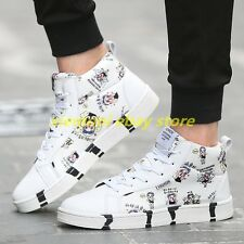 Womens Mens Fashion Cute Catoon Sneakers Sport Lace Up Shoes Unisex Fashion Flat