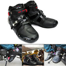 PRO-BIKER Waterproof Motorcycle Boots Offroad Motorbike Riding Shoes Mens Black
