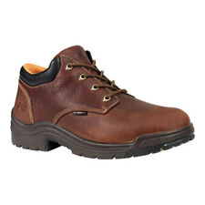 Timberland PRO Men's   TiTAN Oxford Safety Toe Haystack Brown Oiled Leather Size