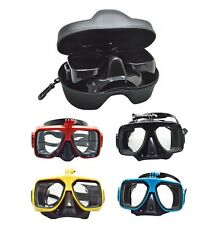 Diving Mask Scuba Snorkel Goggles Face Glasses Mount for GoPro Hero 4S/4/3