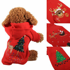 Fashionable Small Pet Dog Cat Puppy Winter Warm Sweater Jacket Coat Clothes JS