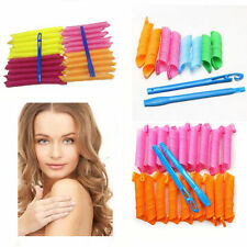 18/36/60PCS 30/45/55CM Magic DIY Hair Curlers Tool Styling Rollers Spiral Circle