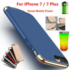 Ultra-Thin Power Bank Case Battery Backup fr iPhone 7 Plus External Charge Cover