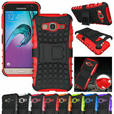 Hybrid Shockproof Stand Daul Layer Armor Combo Case Cover For Samsung Galaxy Sol