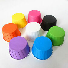 50/100PCs Food Grade Paper Cake Cupcake Liner Cases Wrapper Muffin Baking Cup