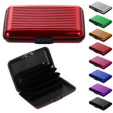 Holder Aluminum Metal Pocket Case Business ID Credit Card Wallet Waterproof New