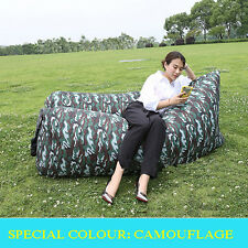 Bulk Chic Waterproof Fast Inflatable Lazy Hangout Air Sofa  Bean Bag Camping