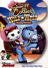 Sheriff Callies Wild West: Howdy Partner (DVD, 2015) Brand New Disney Movie