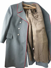 Russian Army General Authentic Military Greatcoat Overcoat wool shinel