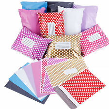 50 Popular Strong Post Postage Poly Mailing Bags Self Seal Colorful All Sizes