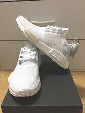Adidas NMD R_1 White Tactile Green Cream BA7752 Women 7.5-9.5US**100%AUTHENTIC**