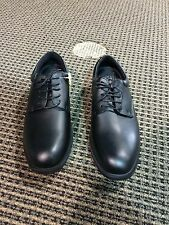 Men's SCF Shoes for Crews Cambridge Black Leather style 6006 Brand New in Box