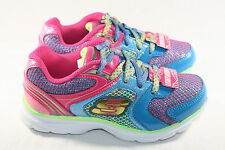 GIRLS SKECHERS MULTI-COLORED LIGHTWEIGHT SHOES - SEE LISTING FOR SIZES (2020)