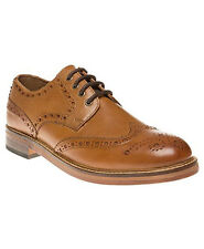 Red Tape Meath Tan Mens Leather Shoes Brogues Lace Up Leather Sole