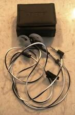 BOSE TRIPORT IE HEADPHONES WITH LEATHER CASE USED WORK AS THEY SHOULD